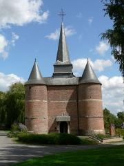 Eglise Saint-Thious -  Église fortifiée de Gronard, Aisne, France
