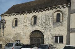 Ancienne église Saint-Martin-au-Parvis - Deutsch: Ehemalige Kirche St-Martin-au-Parvis in Laon im Département Aisne/Picardie (Frankreich)