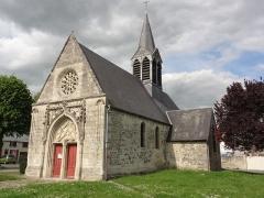 Eglise de Leuilly - English: Laon (Aisne) Église Notre-Dame et Saint-Eloi de Leuilly