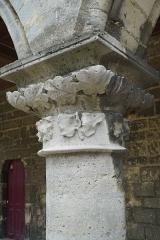 Ancien évéché et chapelle - vue du Palais épiscopal de Laon.