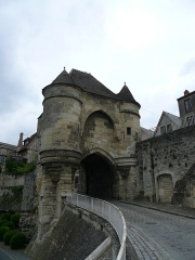 Porte d'Ardon - English:  Gate of Laon's fortified city (dpt. of Aisne, France), known as Porte d'Ardon.