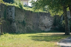Anciens remparts - English: City Walls, Laon, France