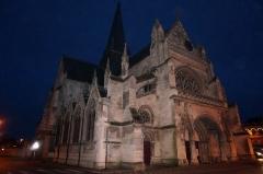 Basilique Notre-Dame - Français:   Vue de Liesse-Notre-Dame.