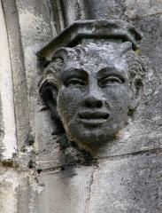 Basilique Notre-Dame - Français:   Tête sculptée.Basilique Notre-Dame de Liesse