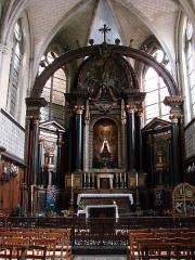 Basilique Notre-Dame - Français:   Basilique Notre-Dame de Liesse. Vue du choeur.