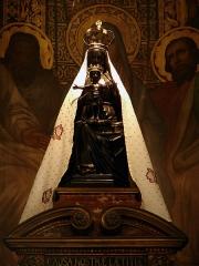 Basilique Notre-Dame - Français:   La vierge noire de la basilique Notre-Dame de Liesse