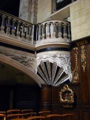 Basilique Notre-Dame - Français:   Basilique Notre-Dame de Liesse, détail.