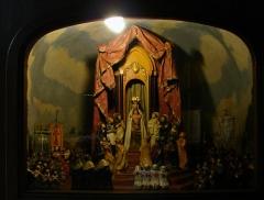 Basilique Notre-Dame - Français:   Un détail du diorama dans la chapelle latérale de la basilique Notre-Dame de Liesse