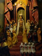 Basilique Notre-Dame - Français:   Un détail du diorama de la chapelle latérale de la basilique Notre-Dame de Liesse.