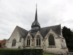 Eglise - English: Nouvion-le-Comte (Aisne) église