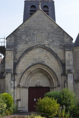 Eglise -  Église Saint-Jean-Baptiste de Pancy-Courtecon, Pancy-Courtecon, Aisne, France