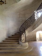 Ancienne abbaye - Français:   Escalier monumental de l\'abbaye de prémontré (Aisne, Picardie)