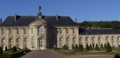 Ancienne abbaye - English: Prémontré Abbey mother house of the Premonstratensian Order. Since 1867 psychiatric hospital , Aisne, France