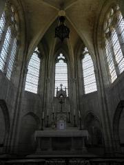 Eglise Saint-Julien et Saint-Jean-Baptiste - Français:   Chœur de l\'église Saint-Julien de Royaucourt-et-Chailvet (02).