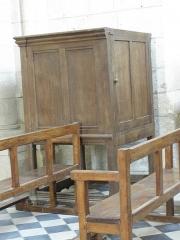 Eglise Saint-Julien et Saint-Jean-Baptiste - Français:   Chaire de l\'église Saint-Julien de Royaucourt-et-Chailvet (02).