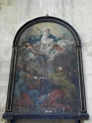Eglise Saint-Julien et Saint-Jean-Baptiste - Français:   Tableau de l\'Assomption de l\'église Saint-Julien de Royaucourt-et-Chailvet (02).