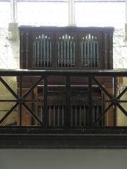 Eglise Saint-Julien et Saint-Jean-Baptiste - Français:   Orgue de l\'église Saint-Julien de Royaucourt-et-Chailvet (02).
