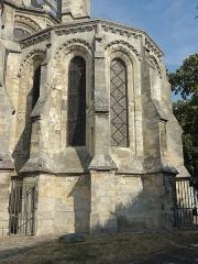 Ancienne collégiale Saint-Quentin - Vue extérieure de la basilique - voir le titre du fichier.