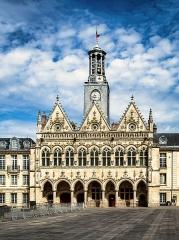 Hôtel de ville - Deutsch: St. Quentin, Rathaus