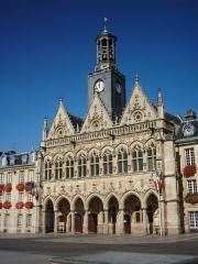 Hôtel de ville -  Hôtel de Ville de Saint-Quentin