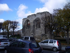 Ancienne abbaye Notre-Dame - Deutsch: Ruine der Abtei Notre Dame de Soissons