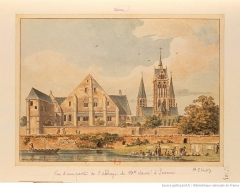 Ancienne abbaye Notre-Dame - French drawer