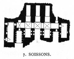 Ancienne abbaye Saint-Médard -  Soissons, S. Medardus, Crypt.