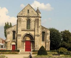 Ancienne église Saint-Pierre-au-Parvis - English: Soissons, the church Saint-Pierre-au-Parvis