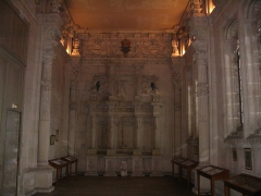 Château - English:   The chapel of the Francis I castle of Villers-Cotterêts, Aisne, France.