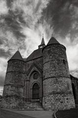 Eglise -  Église fortifiée de Wimy (Aisne, France)