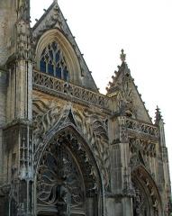 Eglise Saint-Gilles -  Abbeville (Somme, France).  L'église Saint-Gilles.