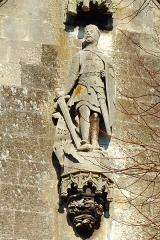 Eglise du Saint-Sépulcre -  Abbeville (Somme, France).  L'église Saint-Sépulcre.