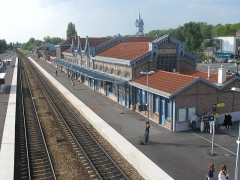 Gare - English: Train station of Abbeville, Somme, France