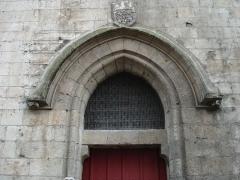 Beffroi -  Porte du beffroi d'Amiens