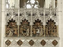 Cathédrale Notre-Dame - Clôture septentrionale du chœur