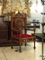 Eglise Saint-Acheul - Français:   Eglise Saint-Acheul, Amiens chaise