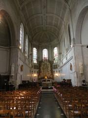 Eglise Saint-Acheul - Français:   Eglise Saint-Acheul, Amiens nef