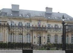 Hôtel de la préfecture du département de la Somme - English: Amiens, the Hôtel de la Préfecture de la Somme