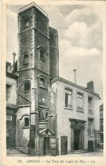 Logis du Roi - Français:   Carte postale ancienne éditée par  LL, n°114: AMIENS - La Tour du Logis du Roi