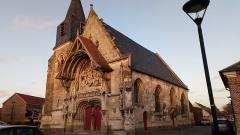 Eglise Notre-Dame de l'Assomption - Corbie, église de La Neuville 11