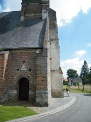 Eglise - Français:   Doudelainville, Somme, France, église (11)
