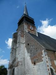 Eglise - Français:   Doudelainville, Somme, France, église (13)