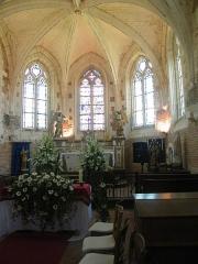 Eglise - Français:   Doudelainville, Somme, France, église (14)