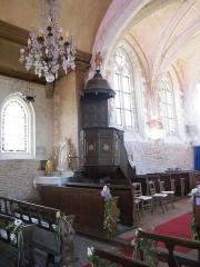 Eglise - Français:   Doudelainville, Somme, France, église (16)