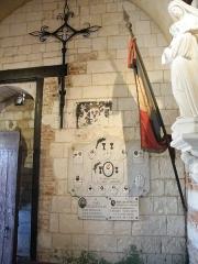 Eglise - Français:   Doudelainville, Somme, France, église (2)