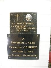 Eglise - Français:   Doudelainville, Somme, France, église (5)