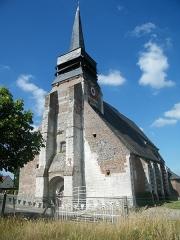 Eglise - Français:   Doudelainville, Somme, France, église (7)