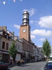 Ancienne maison communale -  Photos prises dans la commune de Doullens (Somme)