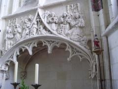 Eglise Saint-Jacques-le-Majeur et Saint-Jean-Baptiste - Français:   Folleville (Somme), église Saint-Jacques-le-Majeur et Saint-Jean-Baptiste, enfeu