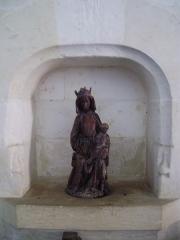 Eglise Saint-Jacques-le-Majeur et Saint-Jean-Baptiste - Français:   Folleville (Somme), église Saint-Jacques-le-Majeur et Saint-Jean-Baptiste, statuette